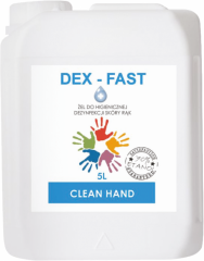 Effective hand disinfection gel with bactericidal,