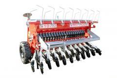 Mechanický řádkový secí stroj Typ S107 / 2 S107