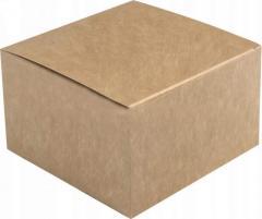 KRAFT box 140x140x90mm