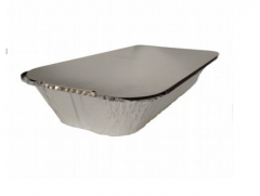 Paper lid for an aluminum mold 249x128x70