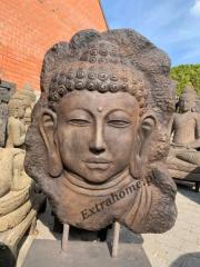 Kamienna płaskorzeźba do ogrodu Budda 120cm Ogrody