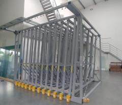 Полка выдвижная для оконных стекол D220-12 p
