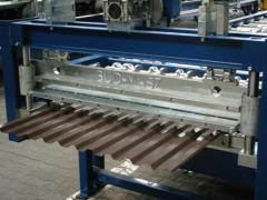 Профилегибочная машина для производства