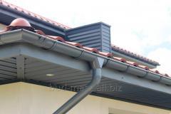 Metal rainwater system