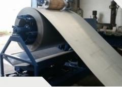 Máquinas de enrolamento e desrolamento de faixa