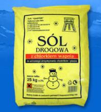 Sól drogowa z chlorkiem wapnia