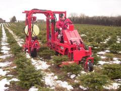 Ciągnik do plantacji choinkowych typ X-Mas -