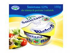 Śmietana do zimnych potraw i sałatek 12%
