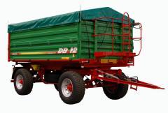 Przyczepy rolnicze typ DB