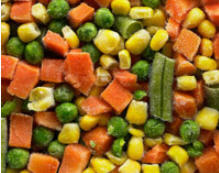 Mrożone warzywa, IQF