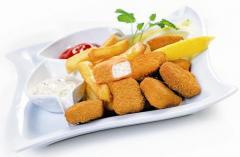 Danie smakosza fish and chips: nuggetsy z frytkami