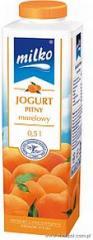 Milko jogurt 500g morelowy Mlekpol