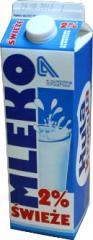 Mleko 2% tł. w kartoniku o poj. 1 L