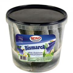 Bismarck - płaty śledziowe marynowane