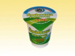 Śmietana jogurtowa 10% tł.