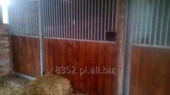 Boksy dla koni - Wyposażenie stajni