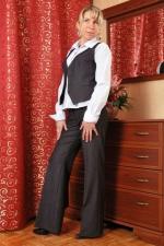 Eleganckie spodnie z marynarką