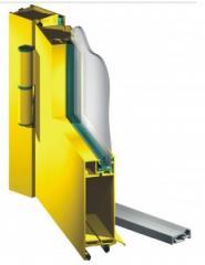Ślusarka wewnątrz otworowa ( drzwi, witryny, okna)