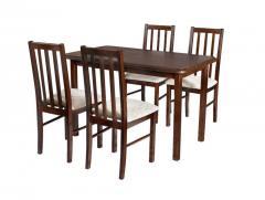 Stół MAX III, krzesła BOSS X