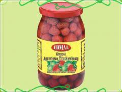 Kompot agrestowo-truskawkowy