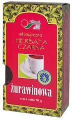 Herbatka Czarna żurawinowa