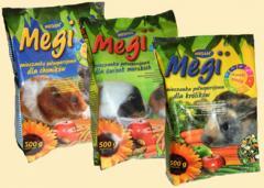 Megi seria dla gryzoni - pokarm podstawowy