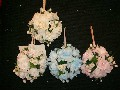 Flower compositions for wedding table