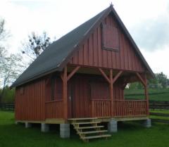 Domek drewniany ebo 1- czapla