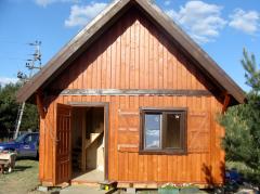 Domek drewniany ebo 4 bocian