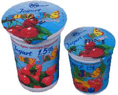 Jogurt owocowy kubek 160g