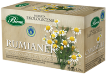 Herbata ekologiczna Rumianek