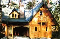 Dom szkieletowy - kanadyjczyk