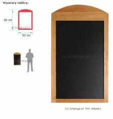 Tablica do stojaka reklamowego