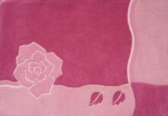Dywan róża
