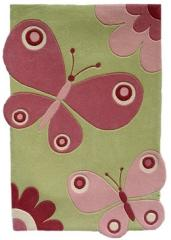 Dywan dla dzieci  motyle