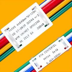 Markers for cable
