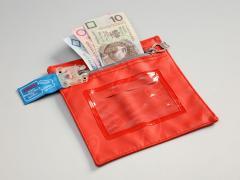 Saszetki na pieniądze plombowane