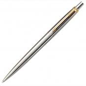Parker Jotter długopis srebrno złoty