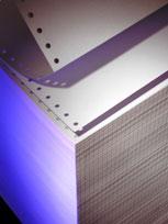 Papier Komputerowy 240x12,  jednowarstwowy