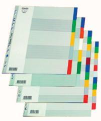 Przekładki z kolorowego PP