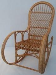 Fotel bujany dla osoby dorosłej.