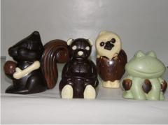 Figurki czekoladowe
