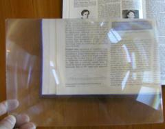 Arkusz powiększający Soczewka Fresnel 255x180 ETUI