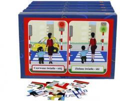 Bezpieczne dziecko (5 pudełek z puzzlami)