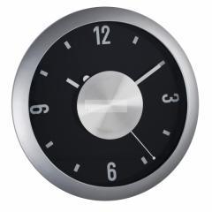Kwarcowy zegar ścienny z blaszką +GRAWER Dedykacji