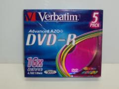 Dysk DVD-R 4,7 GB x8/16 VERBATIM Slim