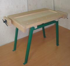 Stół ślusarsko-storarski szkolny 2-stanowiskowy