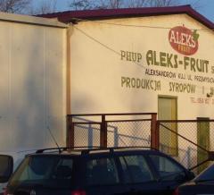 Zapraszamy do wytwórni Aleks - Fruit w