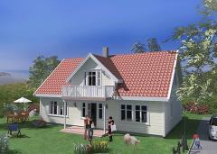 Domy w stylu norweskim