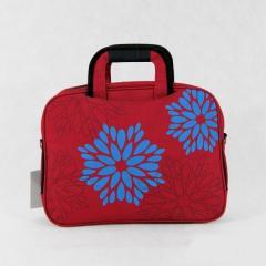 Bordowa torba damska na laptopa/notebooka